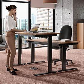 Sit-Stand Office Desks