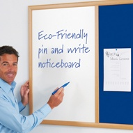 Dual Noticeboards / Whiteboards