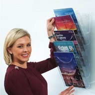 Clear View Leaflet Dispensers