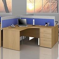Modus Commercial Panel End Desks