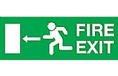 EC Directive Fire Exit Signs