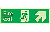 Photoluminescent Safety Sign