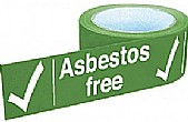 Asbestos Tapes On A Roll