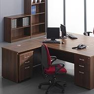 Malbec Walnut Office Furniture