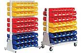Louvred Rack & Trolley Bin Kits