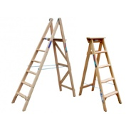 Timber Step Ladders