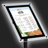 Illuminated Poster Displays