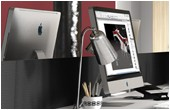 Distinct Desk Mounted Screens