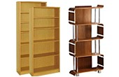 Real Wood Veneer Bookcases