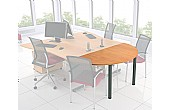 Solar Desk End Meeting Tables