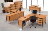 Nova Contract L-Shaped Desks
