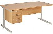 Commerce II Rectangular Desks