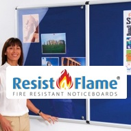 Shield Resist-A-Flame Noticeboards