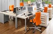 BN Primo Space Veneer Ergonomic Desks