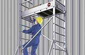 Hailo Ladder Scaffold