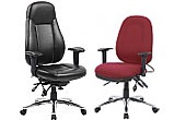 Inflatable Lumbar Operator Chairs