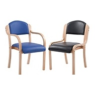 Vinyl Reception Chairs