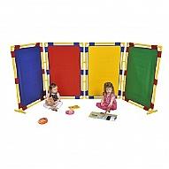 Multicoloured Room Deviders & Playens