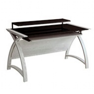 Spectrum Grey Real Veneer Computer Desk