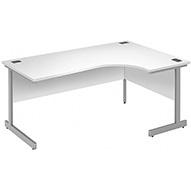 Commerce II White Ergonomic Desks