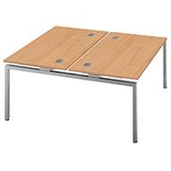 Commerce II Bench Double Starter Desks
