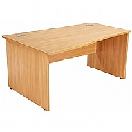 NEXT DAY Commerce II Panel End Wave Desks