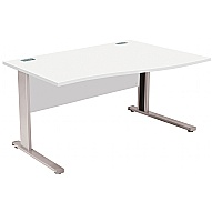 Commerce II Systems White Wave Desks