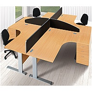 Commerce II Systems Office Desks
