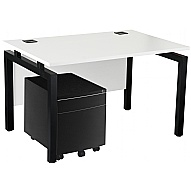 Next Day Karbon K4 Mobile Pedestal Bench Desks