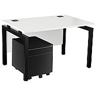 Next Day Karbon K4 Mobile Pedestal Bench Desks