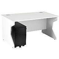 NEXT DAY Karbon K4 Mobile Pedestal Panel End Desks