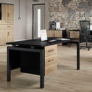 Noir Office Desks