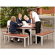 Gopak™ Outdoor Enviro Compact Tables & Benches