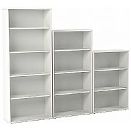 White Office Bookcases