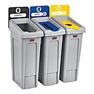 Slim Jim Recycling Bins