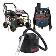 Sealey Cleaning Machines