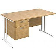 NEXT DAY Stellar Pedestal Desks
