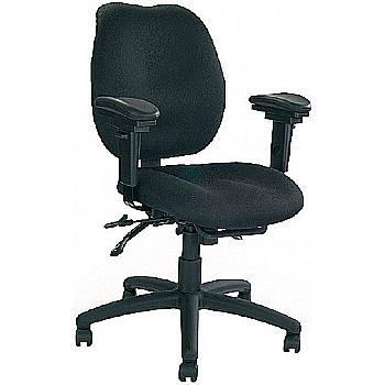 Rome 24 Hour Ergonomic Medium Back Operator Chair
