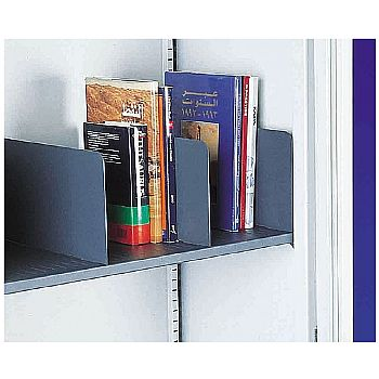 Silverline Slotted Shelf Dividers (Pack of 5) £25 -