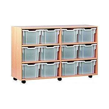 12 Tray Extra Deep Mobile Storage £305 -