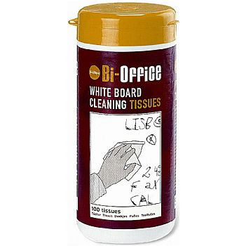 White Board Cleaning Tissues (pack of 100) £8 -