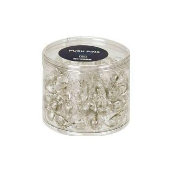 Box of 200 Transparent Push Pins £7 -