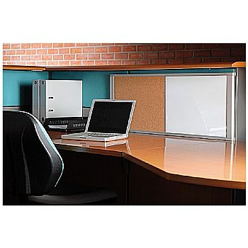 Bi-Office Desktop Combi Cork / Magnetic Whiteboard £59 -