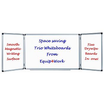 Space-Saver Whiteboard