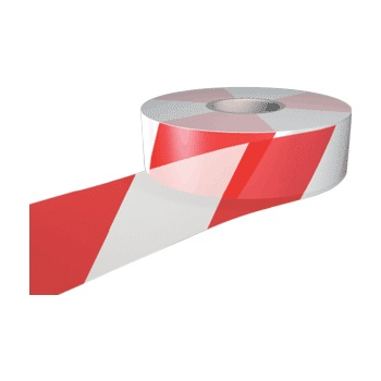 Red & White Barrier Tapes