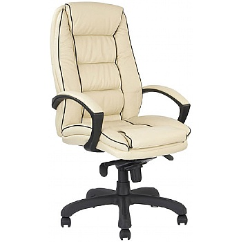 Rome Leather Manager Chair