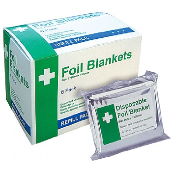Disposable Foil Blankets