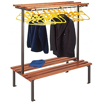 2 Sided Cloakroom Units