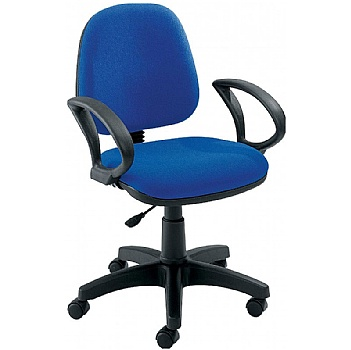 Zoom Medium Back Operator Chair Fixed Arms