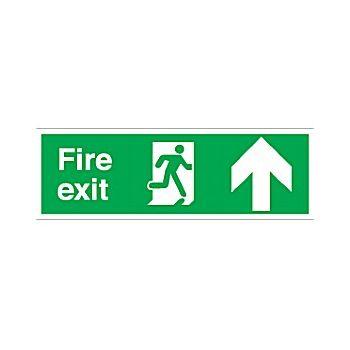 Fire Exit Up Arrow £6 -